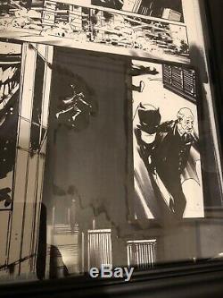 Jock Batman Who Laughs #2 Pg 19 Original Art Scott Snyder Writer Great Action