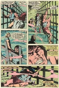 John Buscema/ Bob Mcleod Vintage 1981 Conan The Barbarian Original Art