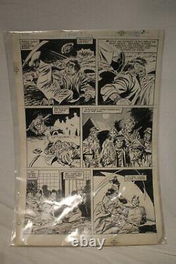 John Buscema Original Art /Wolverine (1988 1st Series) #1 Page 2 LOOK