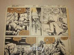 John Byrne Avengers 183 Original Art Page 22 1979! Absorbing Man Page