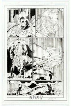 John Romita Jr. And Klaus Janson Batman #80 Story Page 16 Original Art (2019)