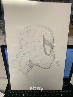 John Romita Jr Jrjr Sketch Original Art Of Spider-man Marvel Comic