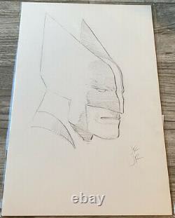 John Romita Jr Signed Original Marvel Comics WOLVERINE Art Sketch 11x17 with COA