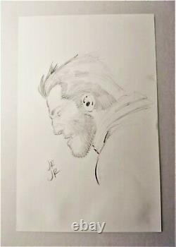 John Romita, Jr. Signed Wolverine Original Art-x-men, Marvel Comics