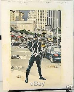 John Watson Original Art Cover Painting Son Of M #6