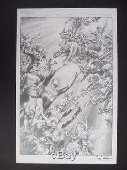 Justice League of America 80 Page Giant #1 (Original Art) Cover by Jay Anacleto