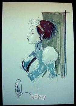 Lady Mechanika Original Art Commission By Joe Benitez / Large 12x18