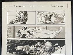 MOON KNIGHT Original Art Page Vol 7 Issue #2 Pg 16 SIGNED by Declan Shalvey