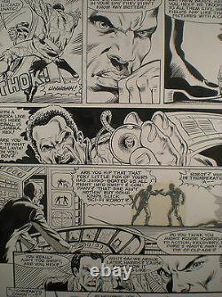 Mark Texeira Jonah Hex Original 1983 Vintage Comic Art