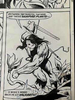 Marvel Comics 1973 Creatures On The Loose Issue 25 Pg. 6 Original Art Mayerik