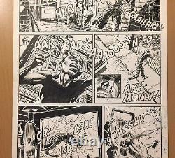 Marvel Comics Daredevil #243 Al Williamson Signed Original Art The Nameless One