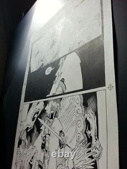 Mike Mignola original comic art pageChronicles of Corum#3 pg. 23 Rare signed