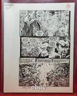 Namor The Sub-Mariner #25 Pg. 20 Original Art