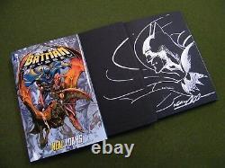 Neal Adams Original Art on Batman Odyssey Hardback