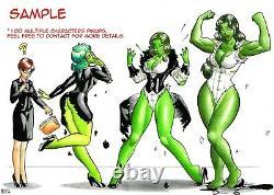 Original 11''x17'' Comic Art Pin-up (Any Character) by Demetrio Braga