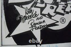 Original Art Comic Strip BRENDA STARR REPORTER 1/1982, RAMONA FRADON pencil, ink