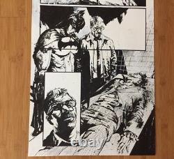 Original Art Jason Shawn Alexander Batman Joker Death Arkham DC Joaquin Phoenix