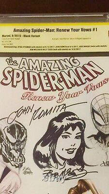 Original Art Sketch Ryan Stegman & Jose Varese John Romita Sr Bob McLeod & Tucci