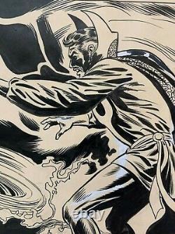 Original Art by JEFF ACLIN, Marvel UK, Dr. Strange vs. Dormammu unpublished pgs