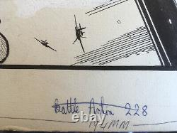 Original Comic Art of Johnny Red by John Cooper. Battle Action Weekly 228