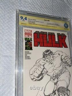 Original Marvel Comic Art Herb Trimpe Sketch Hulk 181 Pin Up XL Full Body 9.6 Ss