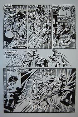 Original Production Art CAPTAIN AMERICA #110, page 6, JIM STERANKO art