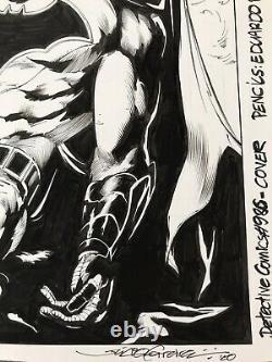 Original comic art cover Batman Detective Comic Julio Ferreira