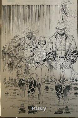Original comic art interior pages marvel