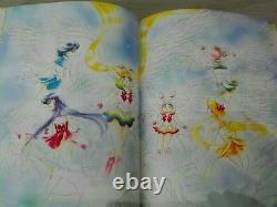 Pretty Soldier Sailor Moon #4 Original illustration Art Book Naoko Takeuchi Rare