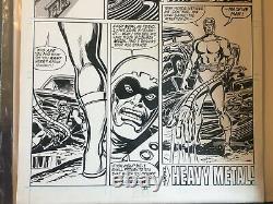 RARE! AVENGERS #287 Pg22 JOHN BUSCEMA & TOM PALMER Original Art 1988 MACINE MAN