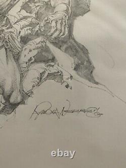 Rudy Nebres Conan The Barbarian Original Art 11x14 Pencils Only See Pics