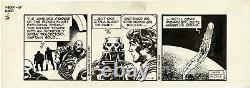 STAR WARS Daily Comic Strip Original Art 1-14-1981 ALFREDO ALCALA withHAN SOLO