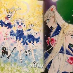 Sailor Moon Original Illustration Art Book Vol. 1 Naoko Takeuchi Pretty Guardian