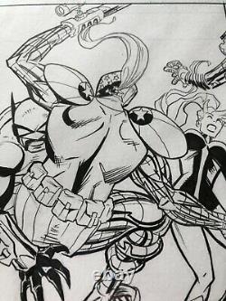 Savage Dragon 250 Page 26 Inked Original Art By Greg Kirkpatrick Erik Larsen