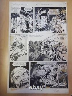 Savage Sword #51 Page 27 Original Interior Page Art John Buscema