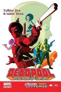 Scott Koblish Signed 2014 Deadpool Original Art-deadpool, Power Man, Iron Fist