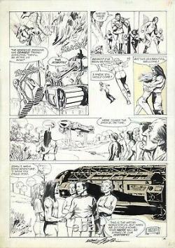 Space 1999 Magazine 7 page 49 Original Art by Carl Potts & Neal Adams (1976)