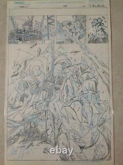 Spawn #198 complete set 20 original art page McFarlane Khary Randolph Capullo
