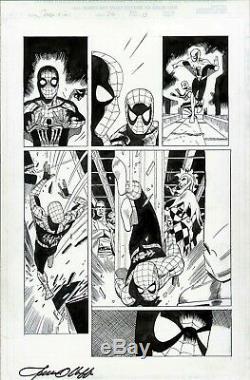Spidergirl #36 Spiderman Original Art Page Olliffe Al Williamson Marvel Comics