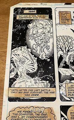 Star Wars Vintage Marvel Page 22 Issue #38 Michael Golden Original Comic Art