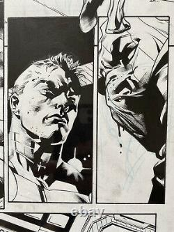 Stuart Immonen All New Captain American #6 Original Comic Art Zemo Steve Rogers