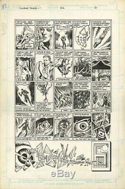Swamp Thing #62 Page #21 Rick Veitch Alfredo Alcala Original Art DC Comics