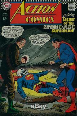 Swan, Curt Action Comics #350 Cover Original Art (large Art) 1966