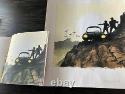 The Transformers Marvel Comics Original comic art Earl Norem Splash page