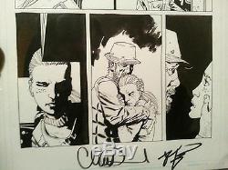 The Walking Dead Issue #12 Page 4 Original Art ft. Andrea Dale RV Charlie Adlard