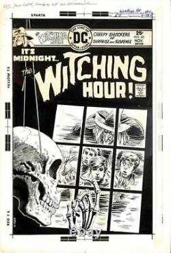 The Witching Hour #60 DC 1975 (Original Art) Cover Nick Cardy & Luis Dominguez