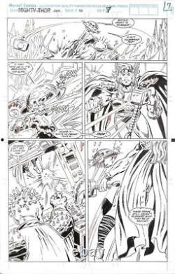 Thor Annual #16 Marvel 1991 (Original Art) Pg #7 Herb Trimpe