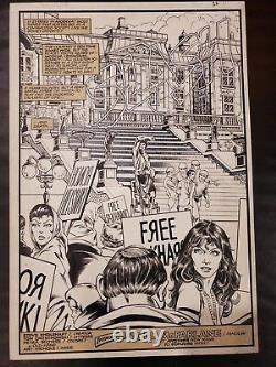 Todd McFarlane Original Art. Coyote #11 1st Splash and 1st Published Work