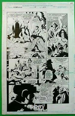 Tom Grindberg Original Art WARLOCK & Infinity Watch #20 Pg 17 Bob Almond Gamora