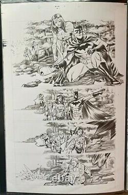 Trinity (2016) 2 Pg 16 Francis Manapul Original Art Page Batman Wonder Woman 84